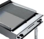 c048 Fry top in ghisa elettrico 380 volts 5 poli 13 Kw
