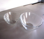 s062 Bowl in vetro diverse misure